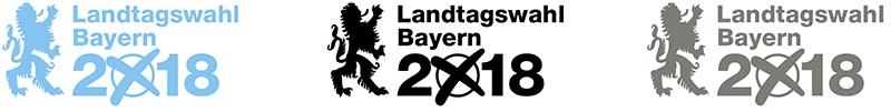 Logo Landtagswahl 2018